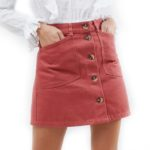 asos-blush-denim-skirt