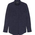 clothes-banana-republic-navy-ruffle-blouse