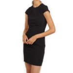 clothes-hm-black-cap-sleeve-dress