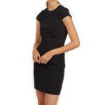 hm-black-cap-sleeve-dress