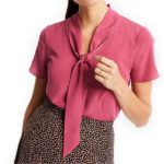 clothes-ann-taylor-tie-neck-blouse