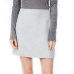 club-monaco-grey-skirt