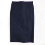 j.crew-navy-pencil-skirt