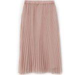 pink-pleated-midi-skirt