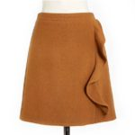 jcrew-camel-ruffle-skirt