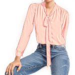 jcrew-tie-neck-pink-blouse
