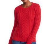 old-navy-red-cable-knit-sweater