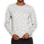 target-gray-polka-dot-sweater