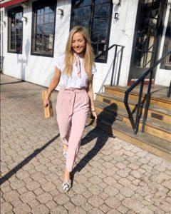 pink-H&M-paperbag-pants
