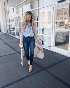 tie-neck-blouse-and-jeans