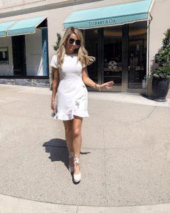 club-monaco-white-dress