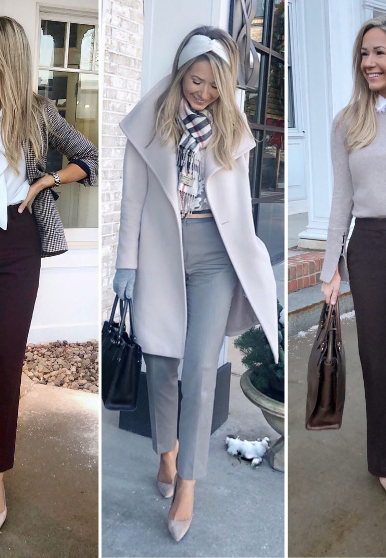 How To Dress For Work When It's Cold!