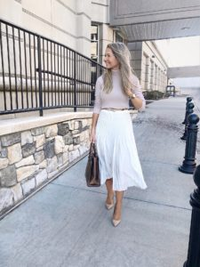 reiss-white-pleated-skirt-outfit
