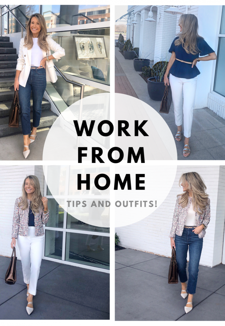 Work From Home Tips and Outfits!
