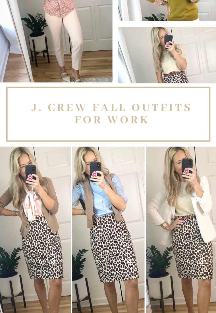 J.Crew Fall Outfits For Work