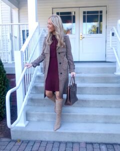 express trench coat outfit