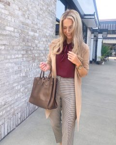 fall outfit for work