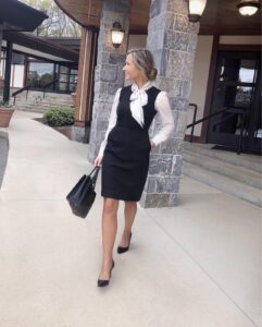 classy work outfit