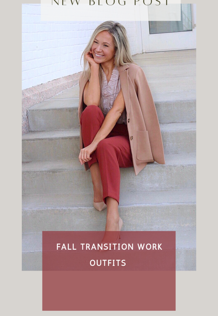 Fall Transition Work Outfits