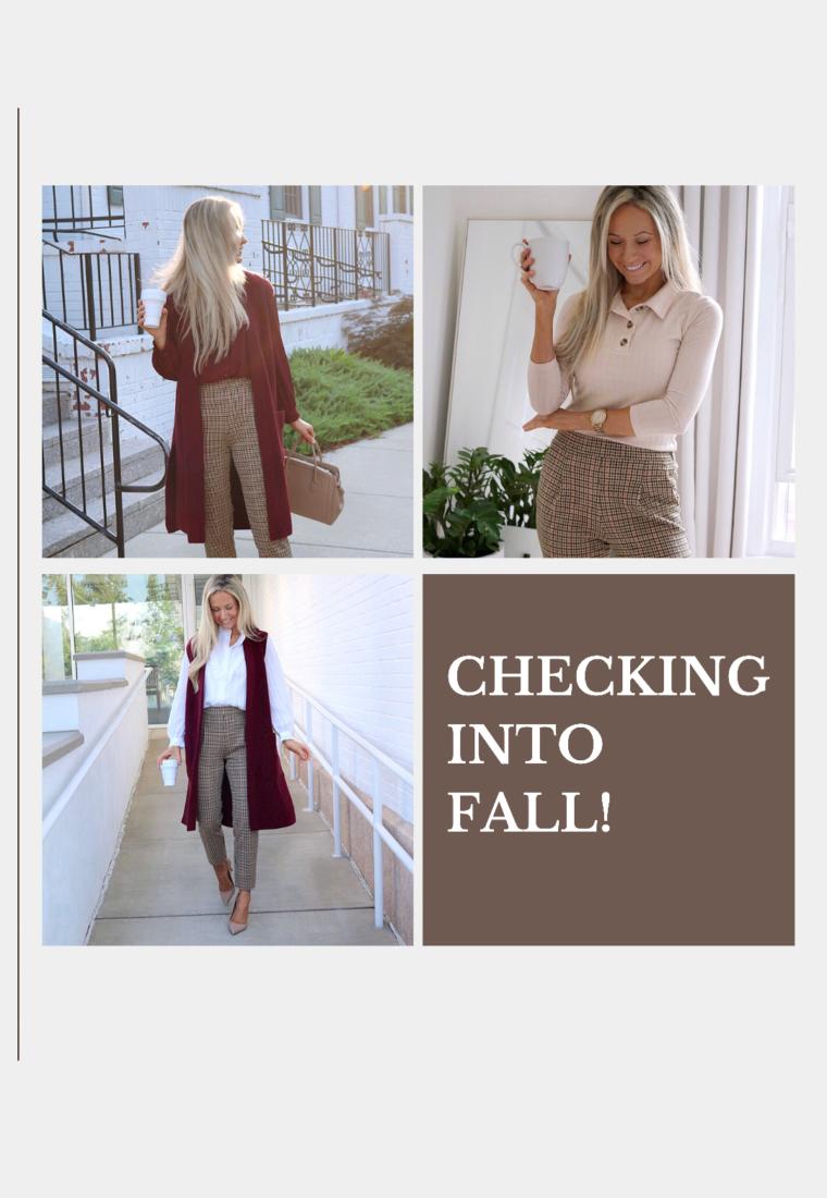 Checking Into Fall!