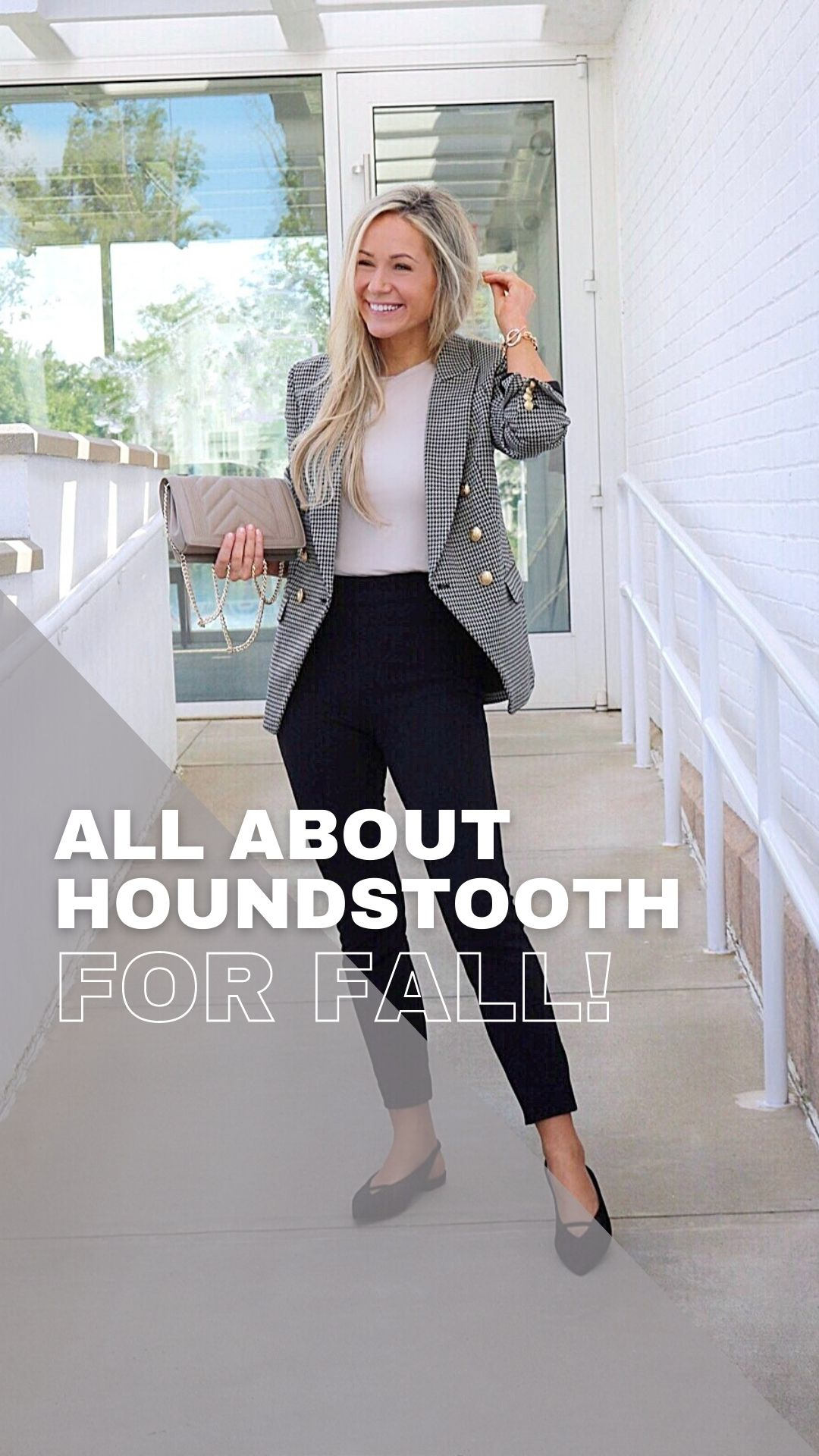 All About Houndstooth for Fall!
